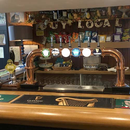 A pub where we installed cask ale equipment